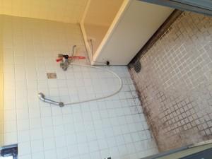 浴室の施工前